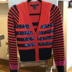 Marc by Marc Jacobs Sequin Cardigan Size S
